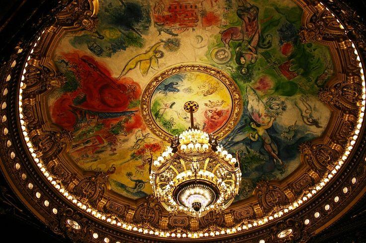 Chagall all'Opera di Parigi