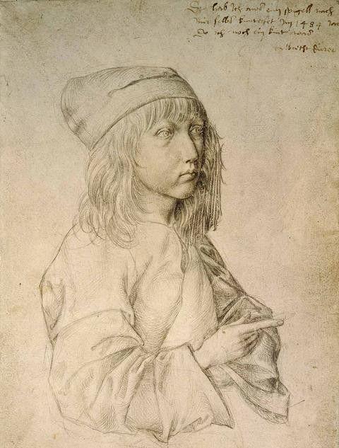 Albrecht Durer, Self-portrait at the age of thirteen, Albertina Museum, Vienna