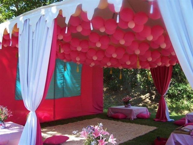 Balloon Canopy Balloon Amp Event Designs Pinterest
