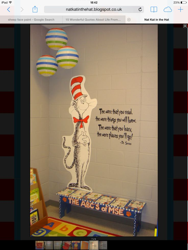 Dr Seuss reading quote
