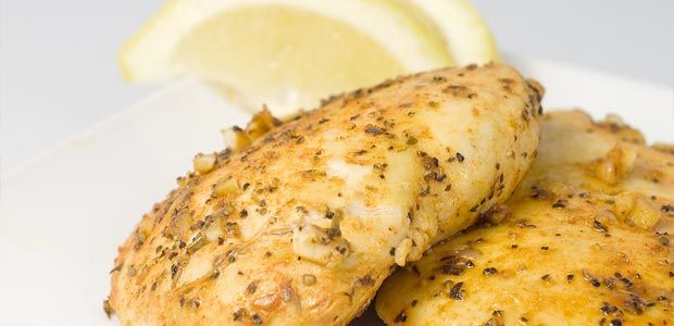 Light and Lovely Lemon and Herb Chicken-crock pot.  Serve with rice and sautéed green beans and small salad