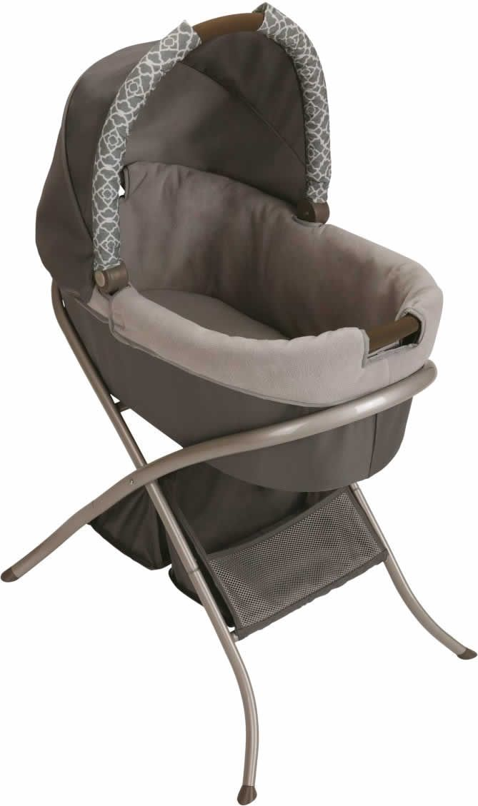 Once we separate our pack n play, we have a portable bassinet :) 5/30/14