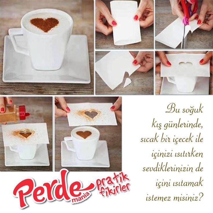 Fikirlerimiz kadar pratik perdelerimize de göz atmak için www.perdemania.com.tr 'yi ziyaret edin :)  #pratik #fikir #practical #ideas #çöpeatma #kış #soğuk #cold #kahve #coffee #sıcak
