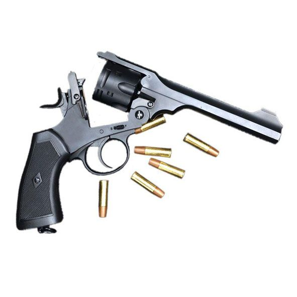 Webley .455 MkVI Airsoft 4.5mm CO2 Service Revolver