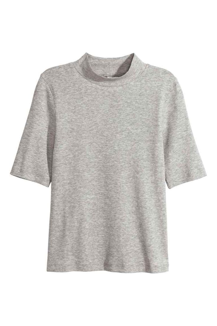 Polo-neck top | H&M