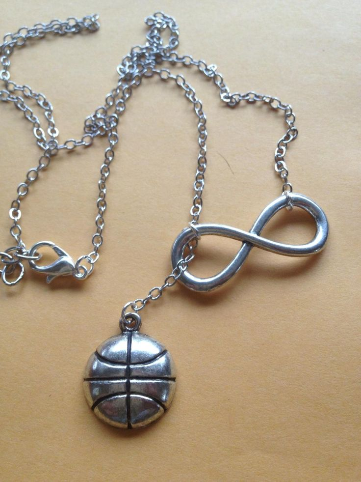 Basketball Forever Drop Necklace Pretty pretty please get this for me!!!