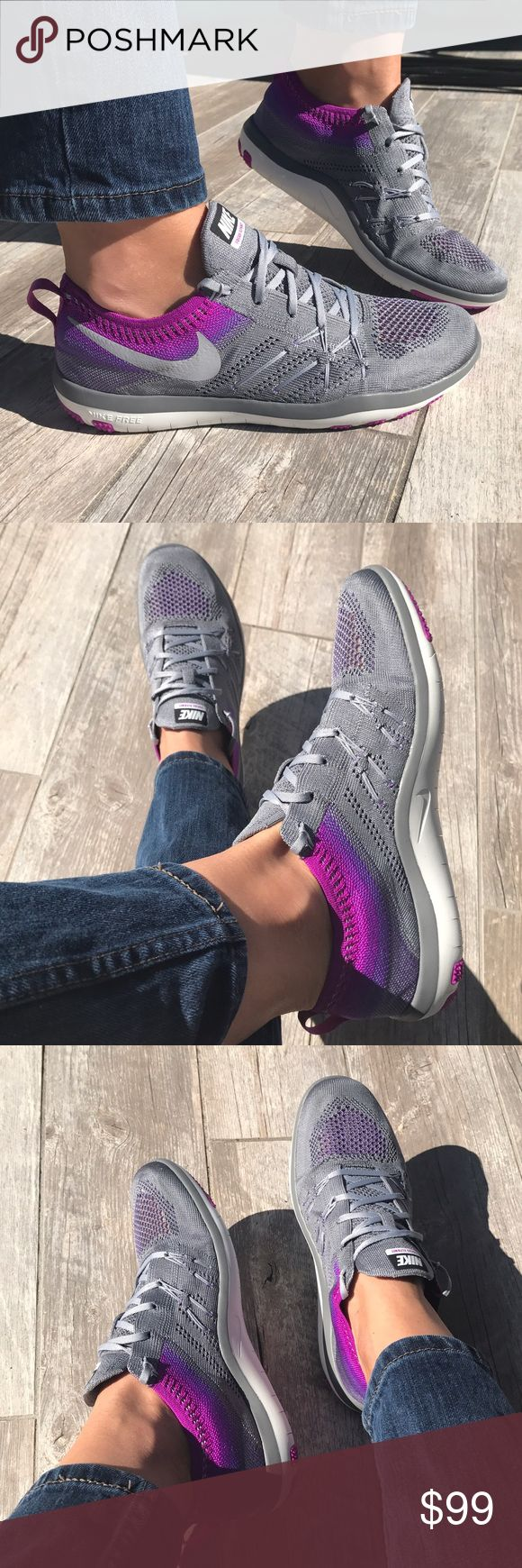 Purple-Grey mix! ---Price Firm--- Purple-Grey mix!Training ---Price Firm---🌂 Nike Shoes Sneakers