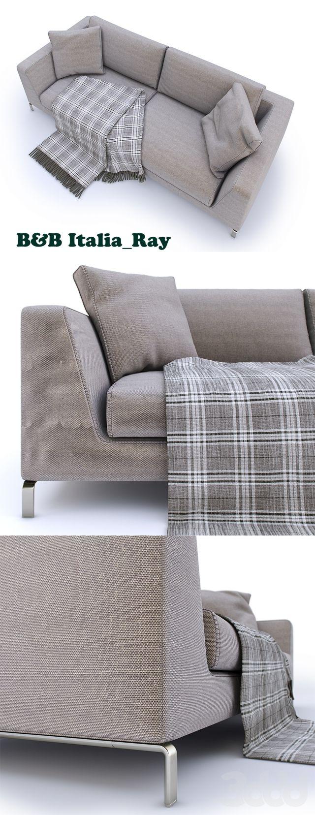 3d модели: Диваны - B&B Italia sofa Ray