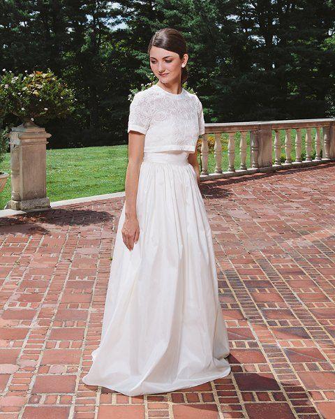 27 Best Images About Crop Top Wedding Dresses On Pinterest