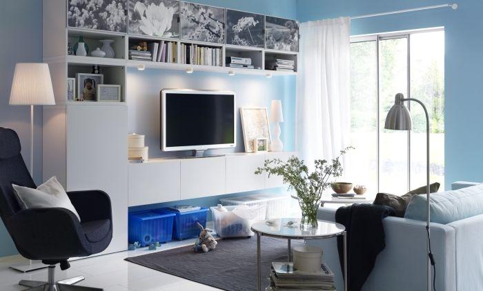 Oltre 1000 idee su mensole soggiorno su pinterest for Soggiorno hemnes