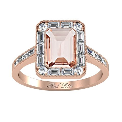80 best Rose Gold Engagement Rings images on Pinterest