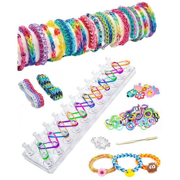 Turns ordinary rubber bands into cool jewelry you will love. Liven up your wardrobe with the Loom Band Bracelet Maker Starter Kit, which turns ordinary rubber bands into cool jewelry you will love. Th