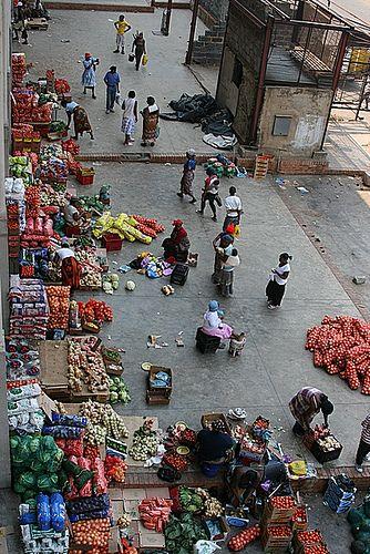 street market, Kliptown, Soweto, South Africa