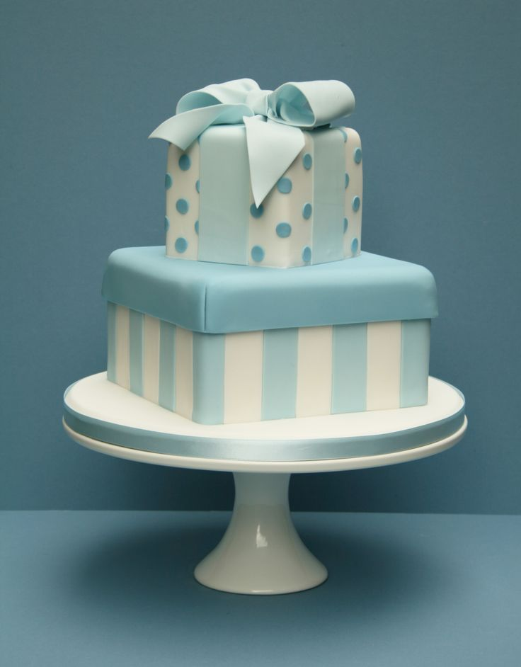 gift box cake - Google Search