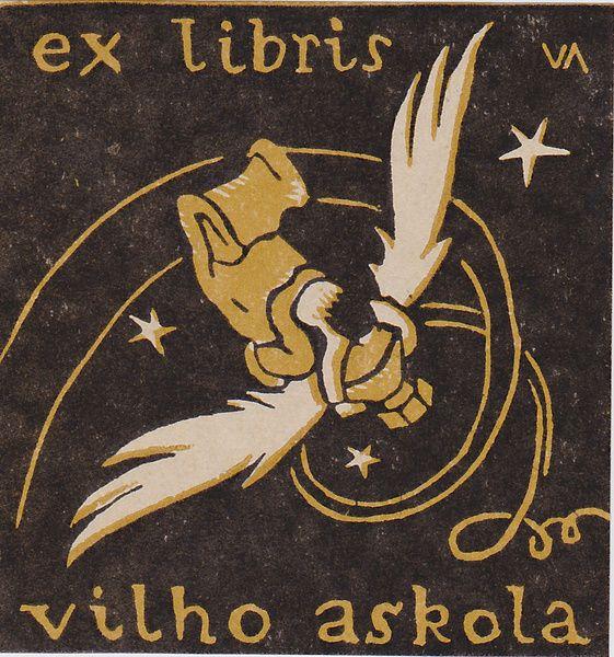 Ex Libris- Vilho Askola - 1932