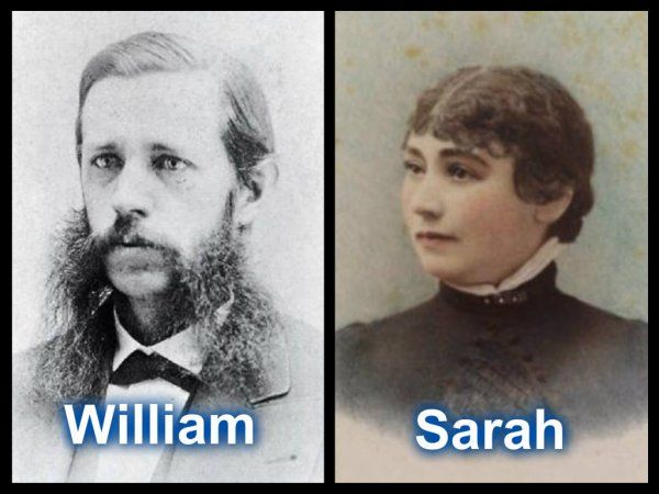 William Wirt and Sarah Lockwood Pardee Winchester