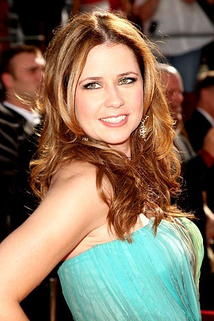 Jenna Fischer  A little more glamorous looking here.