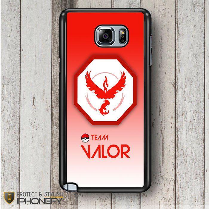 Team Valor Pokemon Go Samsung Galaxy Note 4|5 Case|iPhonefy