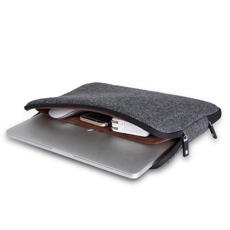 """Barato Top Vendendo Homens Sentiu Bolsa Para Laptop À Prova D' Água 11 12 13 14 15 15.6 + tampa do teclado para macbook air/pro 13 livre caso laptop manga 13, Compro Qualidade Laptop Bags & Cases diretamente de fornecedores da China:   por favor Note: o """" Outro """" opção é de 15.6 polegada   2016 High Quality Laptop Bag Case for MacBook Pro 13"""