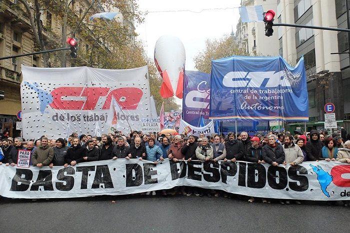 """La CTA anunciará mañana un paro general: Hugo Yaski anticipó que """"será una marcha enorme"""". Se plegará a la de la CGT, y la central de Pablo…"""
