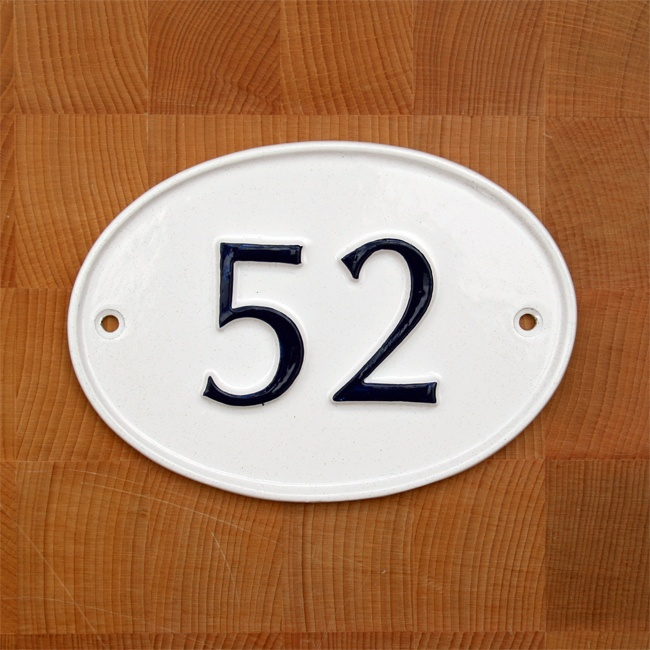 Oval House Number Sign - 12 Best House Number Signs Images On Pinterest House Number