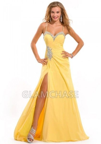 Bakless Formal Dress Daffodil