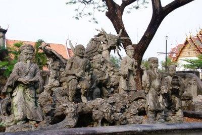 muang boran: The palace garden