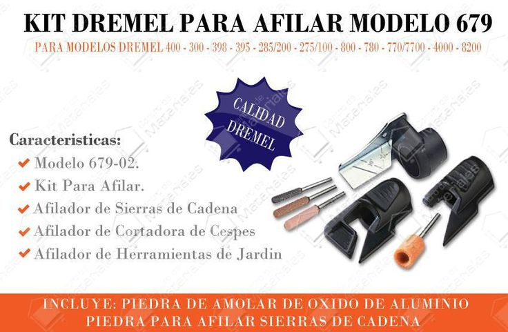 Dremel  679 Kit Para Afilar Cadena Motosierra Y Cuchilla - Vista 1