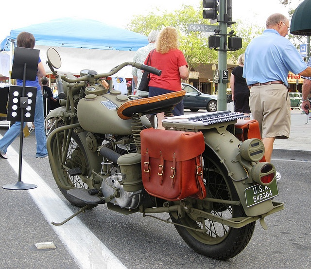 Indian Motorcycle Model 741 WW2 Military Issue - 1941