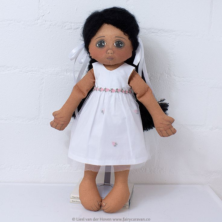 Meet Lily, a handmade South African doll – the perfect best friend and adventurous playmate for your little one! Lily is made from 100% cotton and her hair from South African Mohair.