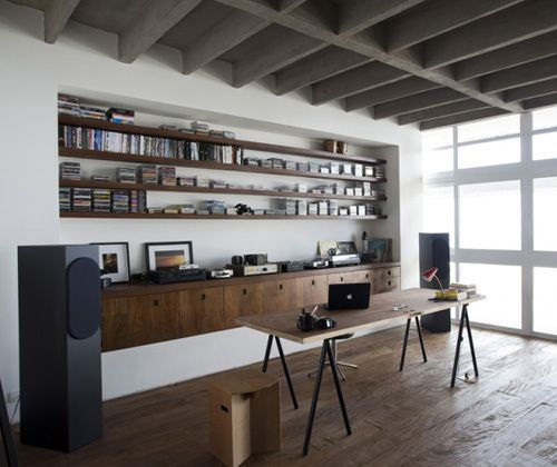 : Sao Paulo, Built In, Offices Spaces, Shelves, Work Spaces, Interiors Design, Oscars Niemeyer, Workspaces, Home Offices