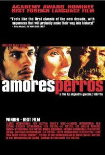 Amores Perros (2000)  A horrific car accident connects three stories, each involving characters dealing with loss, regret, and life's harsh realities, all in the name of love. Director: Alejandro González Iñárritu Writer: Guillermo Arriaga (as Guillermo Arriaga Jordán) Stars: Emilio Echevarría, Gael García Bernal, Goya Toledo