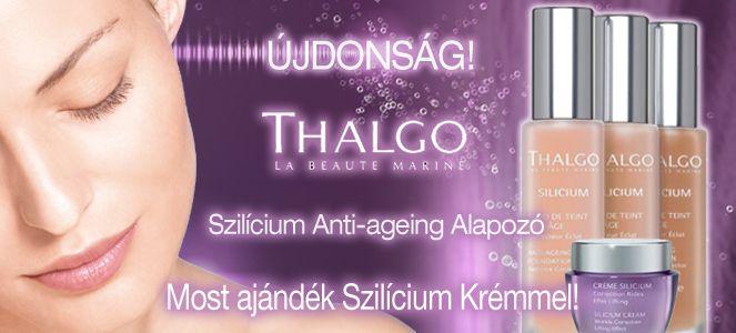 Thalgo szílicium Anti-ageing Alapozó #Thalgo #anti-age #foundation #cosmetics
