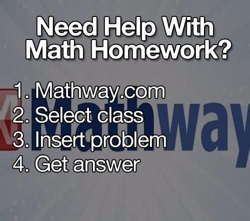 When the kids need help with math...don't ask me!