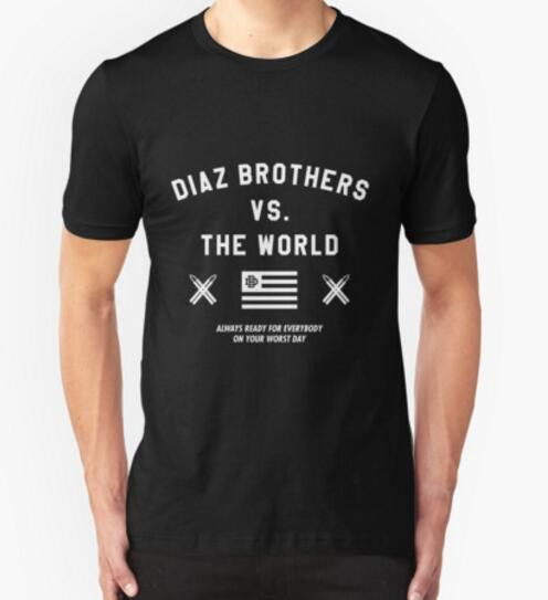 Diaz Brothers Nick And Nate VS. The World Tee