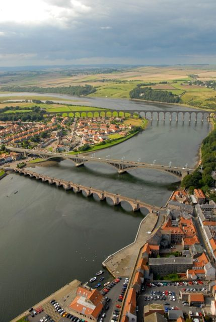 Berwick upon Tweed is England's most northerly town, .and on this day 24th August, 1482 the town and castle were captured from Scotland by the English army. The border town has remained English ever since