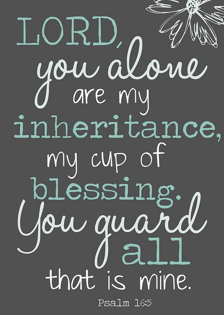 Psalm 16:5