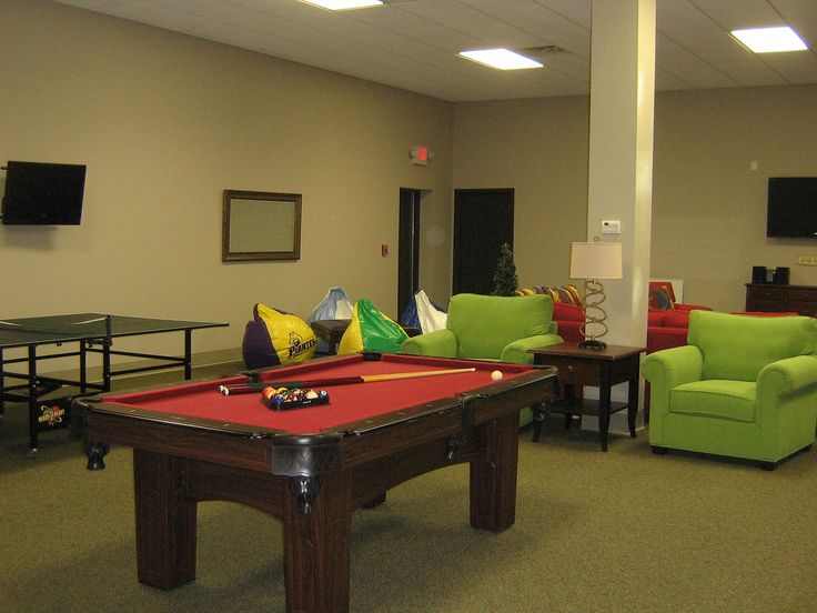 Interior Exquisite Youth Group Decorating Ideas Billiard Also