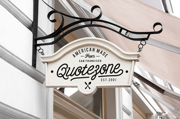 Restaurant & Coffee Signs Mock-Up on Behance