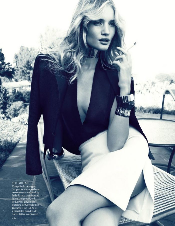 Rosie Huntington-Whiteley for Vogue Spain March 2013