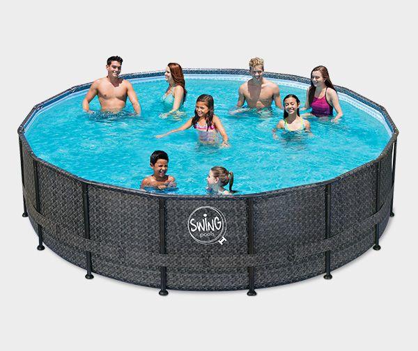 Garten pool 2m durchmesser sj82 hitoiro for Stahlwandbecken 2 m durchmesser