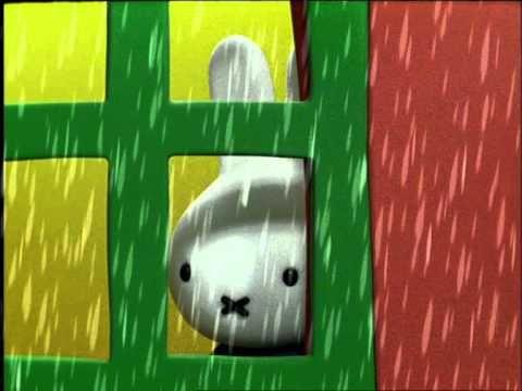 Nijntje - 2 - Nijntje en de regen - YouTube