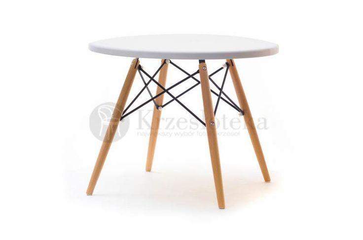 stolik inspirowany stylem eames