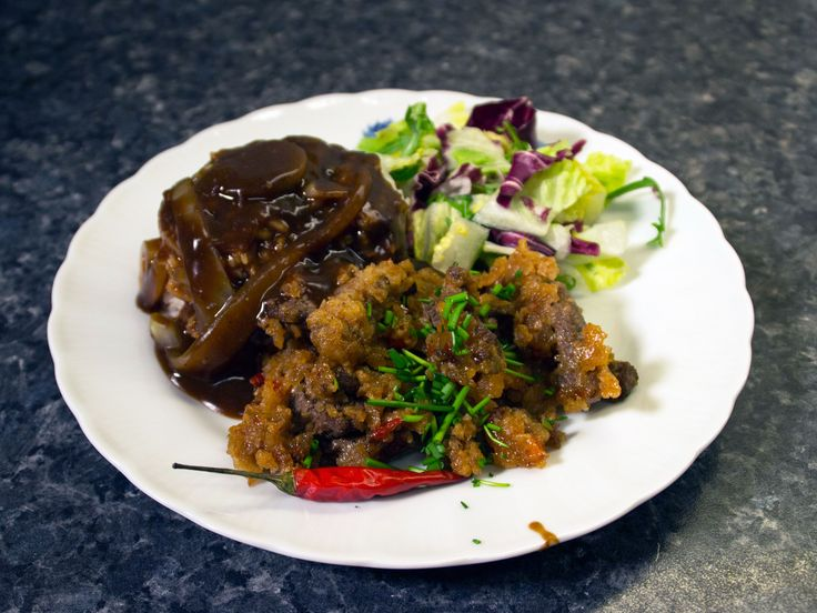 Strimlad Beef Steak, med sweet chili sauce | Recept från Köket.se