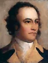 John Sullivan (1740-1795) was a major general in the American Revolution, a delegate in the Continental Congress and a federal judge.  He commanded the Sullivan Expedition in 1779, a scorched earth campaign against the Iroquois towns that had taken up arms against the American revolutionaries.