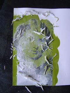 How to transfer a photocpopy image onto acrylic paint...cool! This is a great blog...   The Technique Zone: Acrylic Paint Transfer