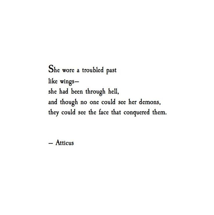 There are so many immensely strong woman in my life who have overcome adversities. I'm so fortunate to know them. Im so fortunate to feel their power. @atticuspoetry #atticuspoetry