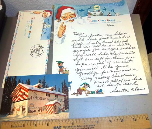 18 luxury letter from santa in the post pictures complete letter 17 best santa claus house images on pinterest father christmas spiritdancerdesigns Image collections
