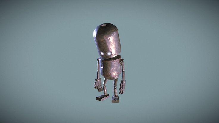 Robot - Hidden (concept by Matt Dixon) by ImsumDave