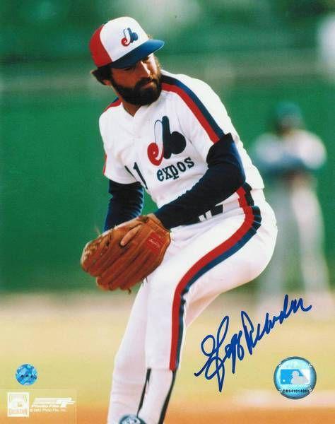 Jeff Reardon Montreal Expos Autographed 8x10 Photo -Pitching-